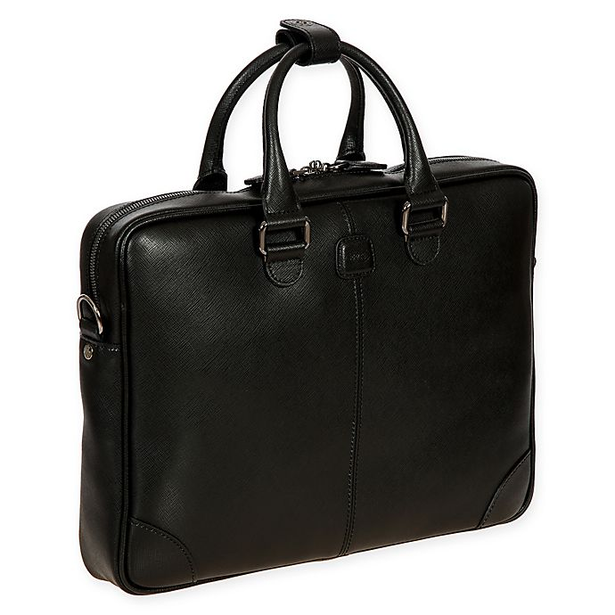 Alternate image 1 for Bric's Varese Leather Business Briefcase
