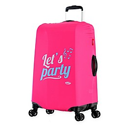 Olympia® USA Spandex Luggage Cover in Party Pink
