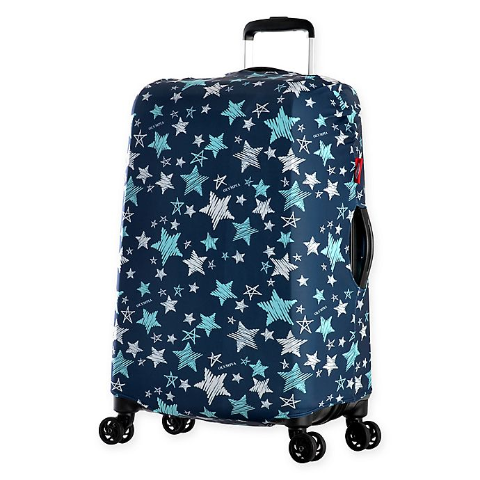 Alternate image 1 for Olympia® USA Spandex Luggage Cover in Star