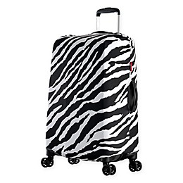 Olympia® USA Spandex Luggage Cover in Zebra
