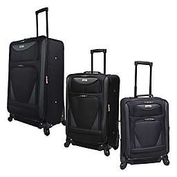 Travelers Club® Sky-View II Expandable Spinner Luggage in Black
