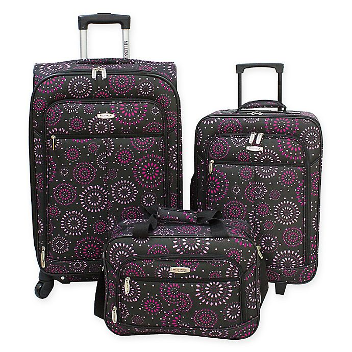 c48aa7f49866 Millennium By Travelway® 3-Piece Luggage Set | Bed Bath & Beyond