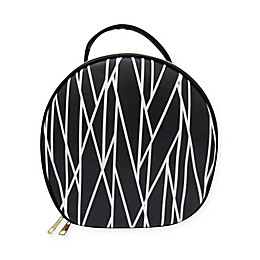Under One Sky Travel Kit in Black and White Stripes