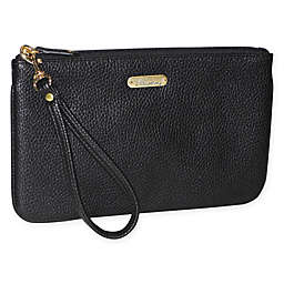 Buxton Power Wristlet in Black