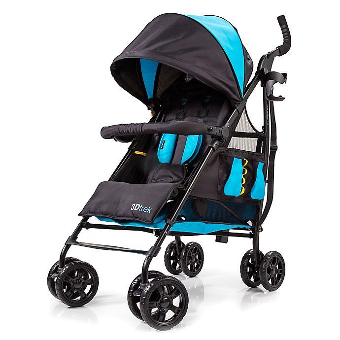 Alternate image 1 for Summer Infant® 3D-Trek™ Convenience Stroller in Royal Blue/Black