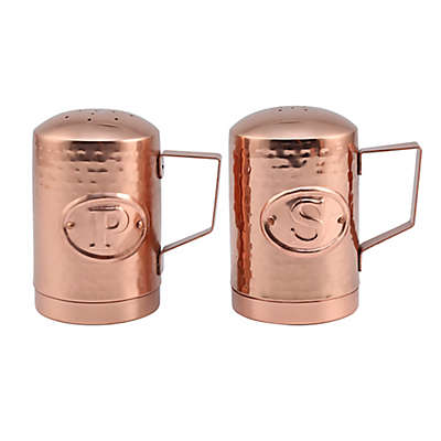 Thirstystone® Hammered Penny Copper Salt and Pepper Shakers