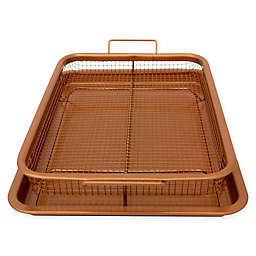 Gotham™ Steel Ti-Cerama™ Nonstick 8.75-Inch x 12-Inch Copper Crisper Tray