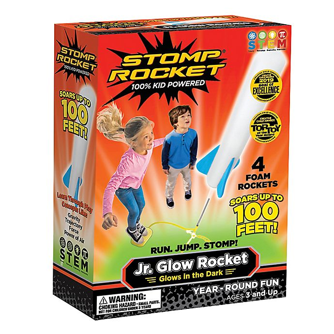 Alternate image 1 for Stomp Jr. Glow Rocket Kit