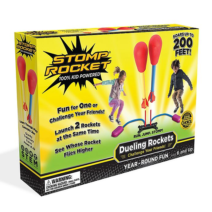 Alternate image 1 for Stomp Rocket Dueling Rocket Kit