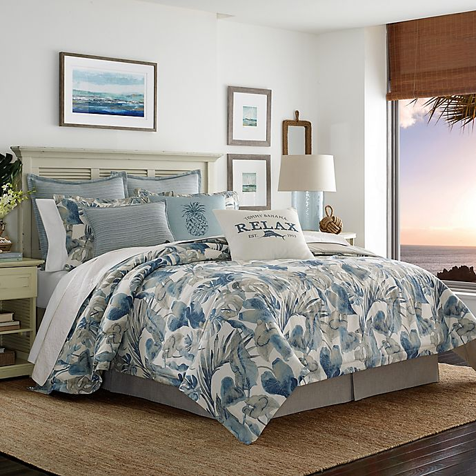 Alternate image 1 for Tommy Bahama® Raw Coast Comforter Set in Blue