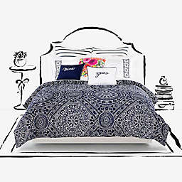kate spade new york Eyelet Medallion Comforter Set