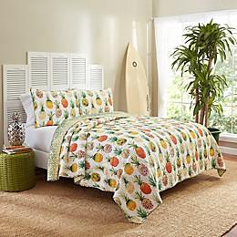Vue® Kokomo Reversible Quilt Set in Sunshine