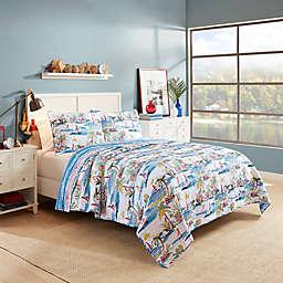 Vue® Second Wind Reversible Quilt Set in Aqua