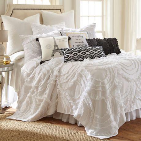 Levtex Home Allie Quilt Set In White Bed Bath Amp Beyond