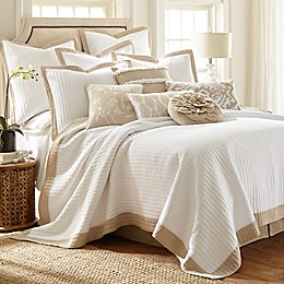 Levtex Home Jordan Reversible Quilt Set in White