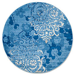 Safavieh Adirondack 8-Foot Round Area Rug in Blue