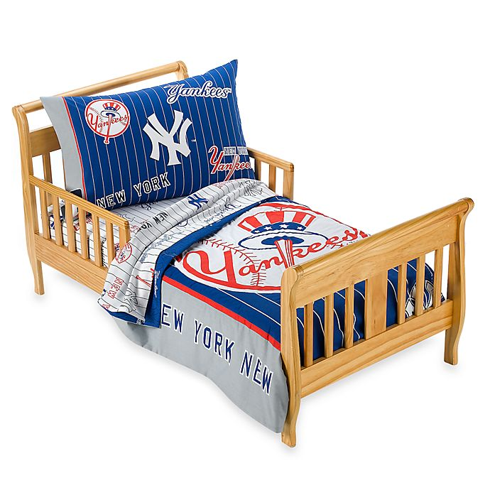 New York Yankees 4-Piece Toddler Bedding by The Major ...
