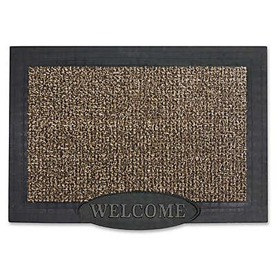 GrassWorx 36-Inch x 24-Inch Welcome Door Mat