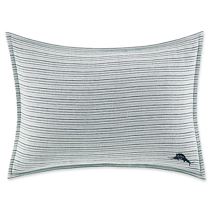 Alternate image 1 for Tommy Bahama® Raw Coast Oblong Throw Pillow in Blue