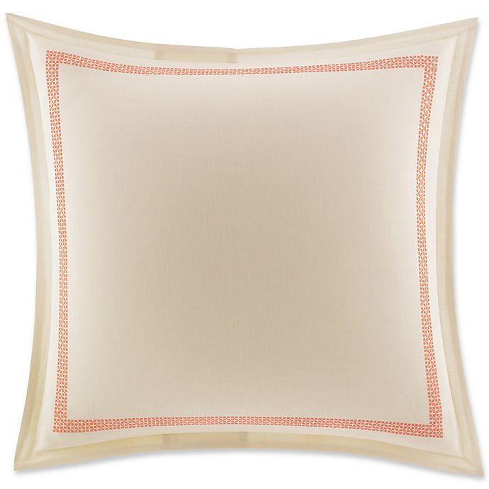 Alternate image 1 for Tommy Bahama® Rio De Janeiro European Pillow Sham in Medium Red