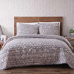 Brooklyn Loom Sand-Washed Reversible Quilt Set
