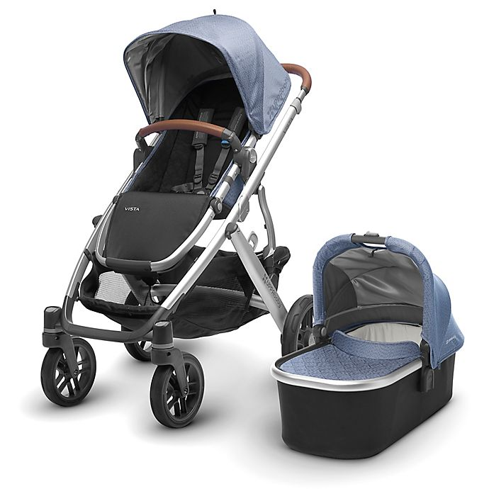 Alternate image 1 for UPPAbaby® VISTA 2017 Stroller with Leather Handles in Henry