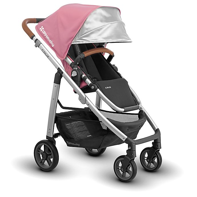 Alternate image 1 for UPPAbaby® CRUZ 2018 Stroller with Leather Handles in Sabrina