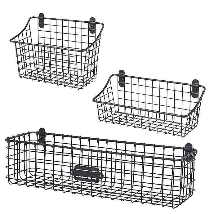 Alternate image 1 for Spectrum® Vintage Cabinet & Wall Mount Basket Collection