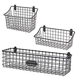 Spectrum® Vintage Cabinet & Wall Mount Basket Collection
