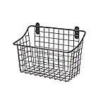 Spectrum® Vintage Large Cabinet & Wall Mount Basket in Grey