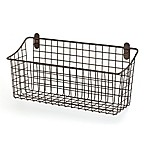 Spectrum® Vintage Extra Large Cabinet & Wall Mount Basket in Bronze