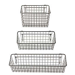 Spectrum Steel Pegboard & Wall Mount Basket in Grey