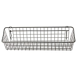 Spectrum® 4-Inch x 16-Inch Pegboard & Wall Mount Basket in Grey