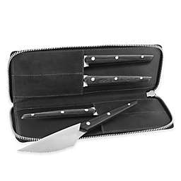 Zwilling® J.A. Henckels Gentlemen's 4-Piece Steak Knife Set with Travel Case