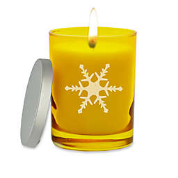 Carved Solutions Gem Collection Snowflake Soy Wax Candle Collection