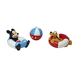 First Years Disney® 3-Pack Mickey Mouse and Pluto Bath Squirt Toys