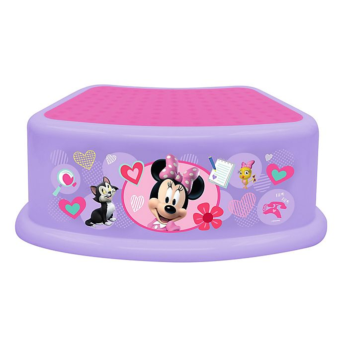 Alternate image 1 for Disney® Minnie Happy Helpers Step Stool