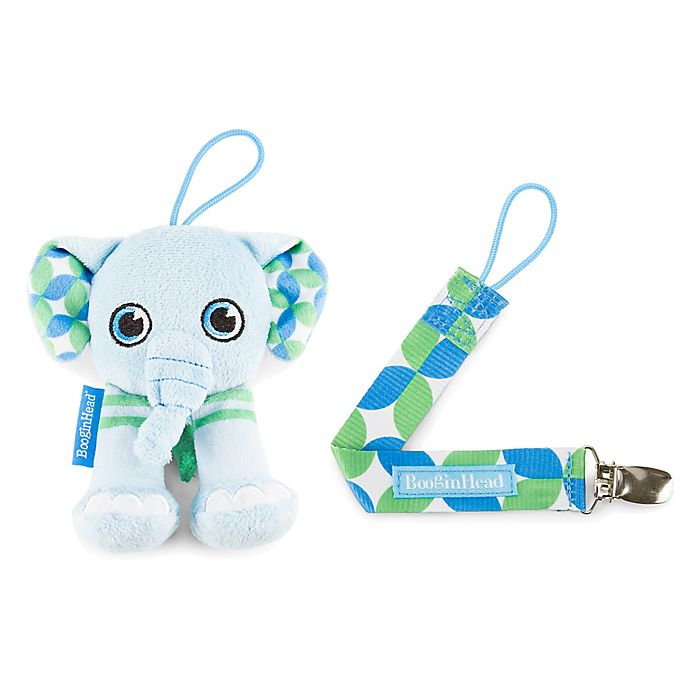 BooginHead PaciGrip Pacifier Clip and Pacifier Holder w// Universal Loop 2 colors