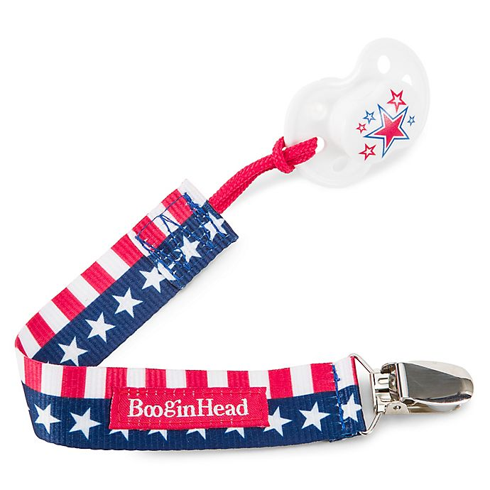 Alternate image 1 for BooginHead Flag PaciGrip Pacifier Strap