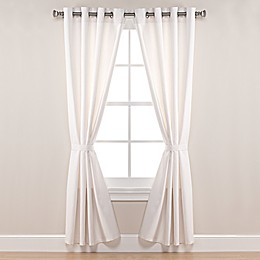 Pawleys Island® Sunbrella® Canvas Grommet Top Outdoor Curtain Panel in White