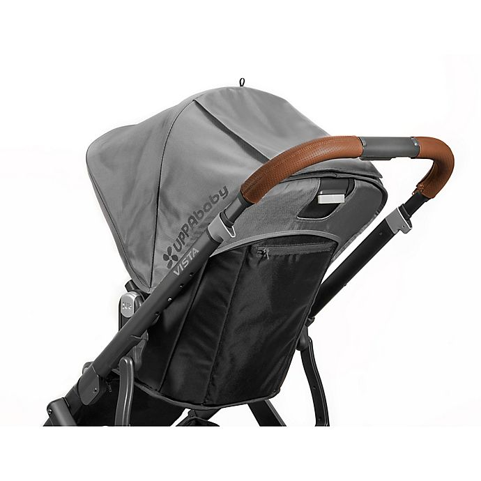 Alternate image 1 for UPPAbaby® VISTA Leather Handlebar Cover in Saddle