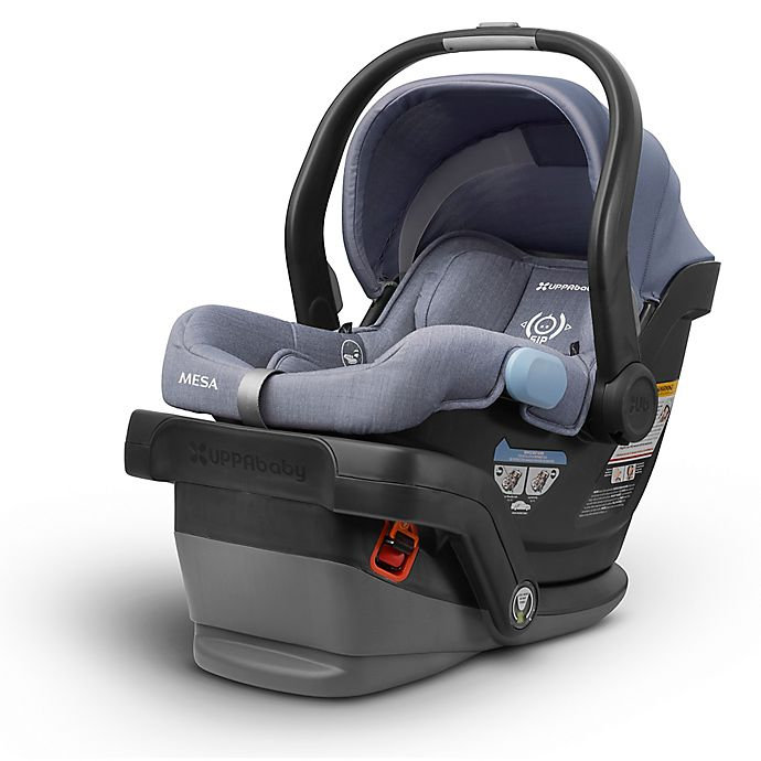 Alternate image 1 for UPPAbaby® MESA Infant Car Seat in Henry (Blue Marl)