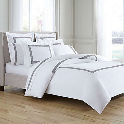 Kassatex Greek Key Duvet Cover