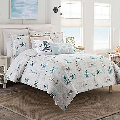 Coastal Life Nantucket Duvet Cover Set