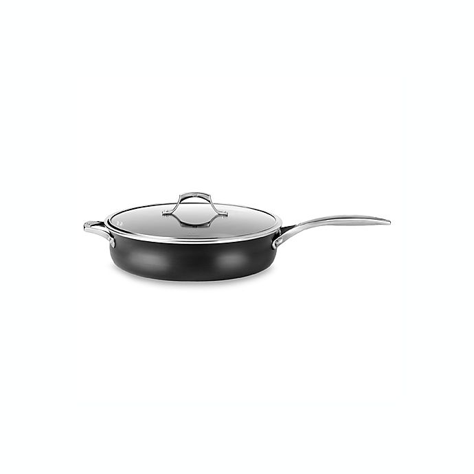 Calphalon 174 Unison Sear Nonstick 6 Quart Covered Saute Pan