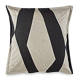 Kelly Wearstler Vivid European Pillow Sham in Charcoal