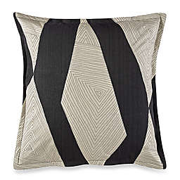 Kelly Wearstler Vivid European Pillow Sham in Charcoal