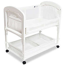 Arm's Reach® Cambria Wood Co-Sleeper® Bassinet in White