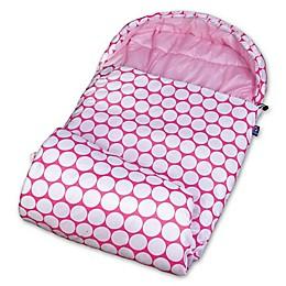 Wildkin Big Dot Stay Warm Sleeping Bag in Pink