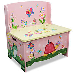 Teamson Fantasy Fields Magic Garden Storage Bench